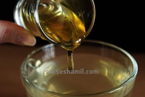seduhan madu dan air putih anget