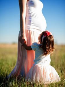 ibu hamil anak perempuan 2