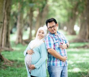 ibu hamil dan keluarga